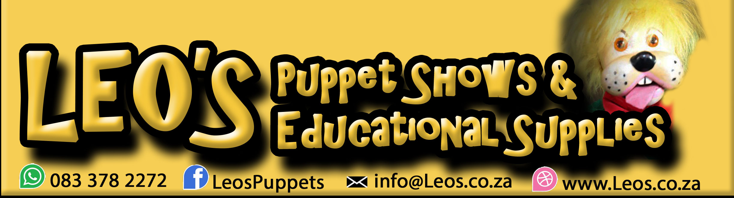 Leo's Puppets and educational supplies